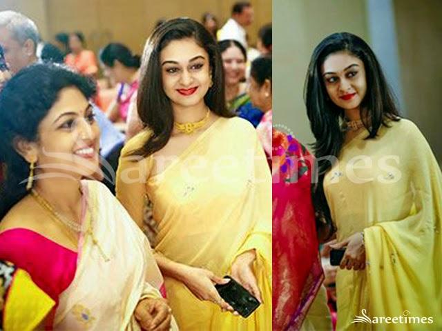 Aishwarya Arjun at Jagapathi Babu Daughter's Wedding