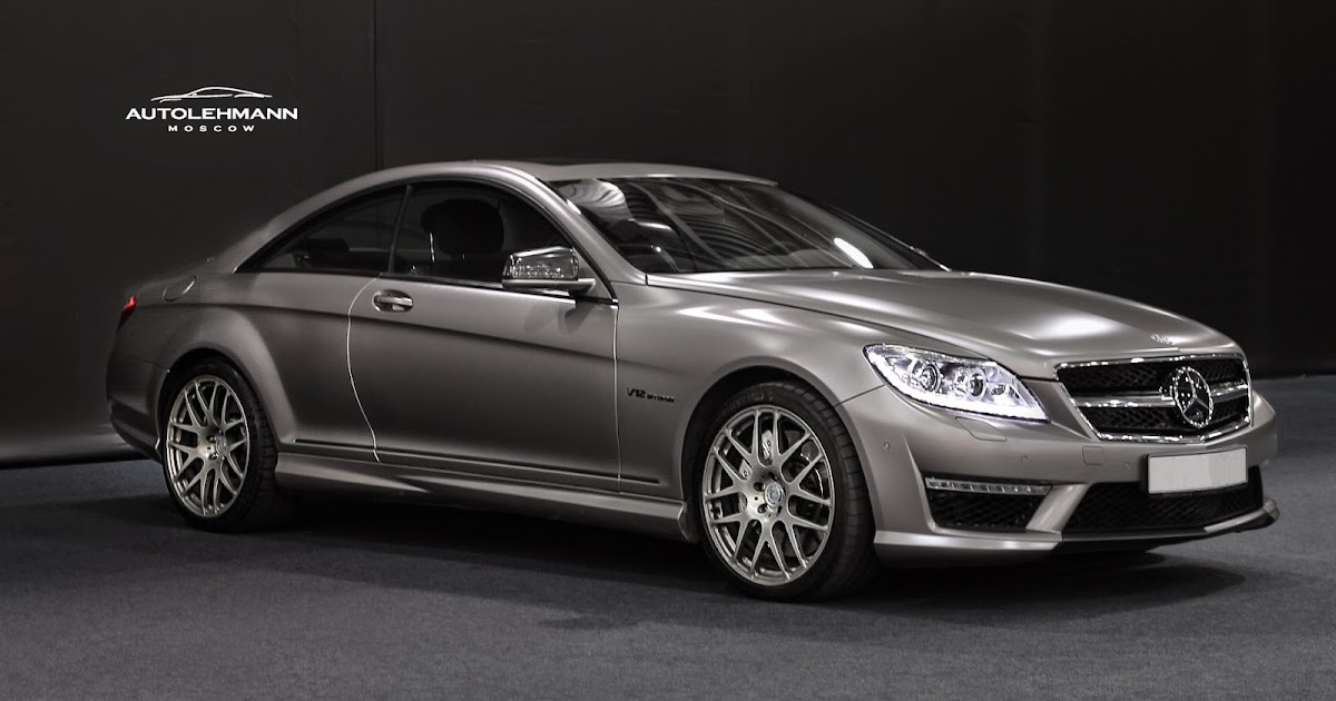 Mercedes Benz Cl65 Amg On Hre Performance Wheels Benztuning