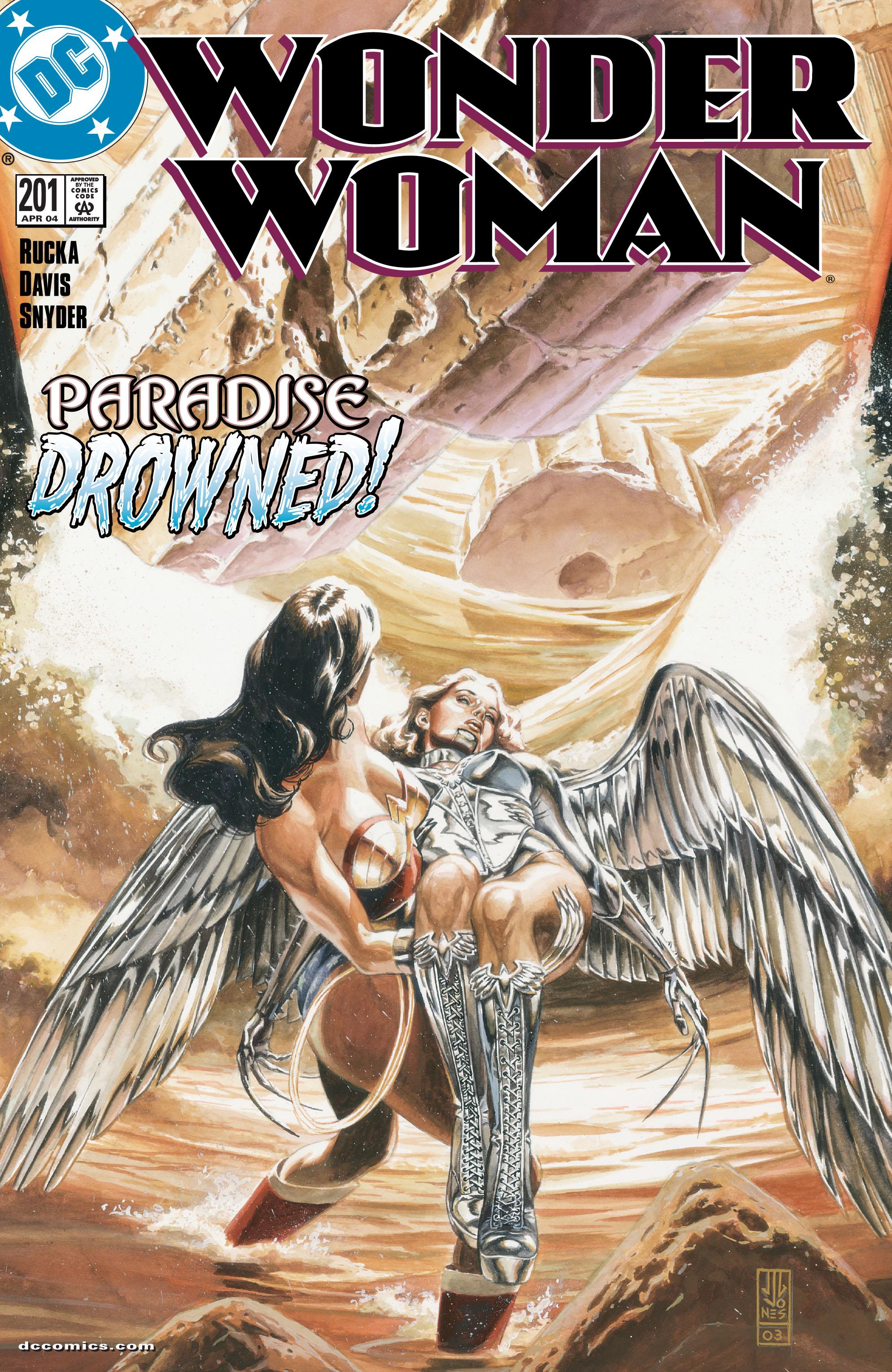 Read online Wonder Woman (1987) comic -  Issue #201 - 1
