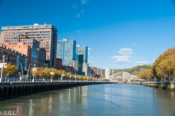 Puente Zubi Zuri. Bilbao, la ria y sus puentes