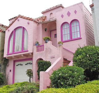 Rumah Cat pink hello kitty