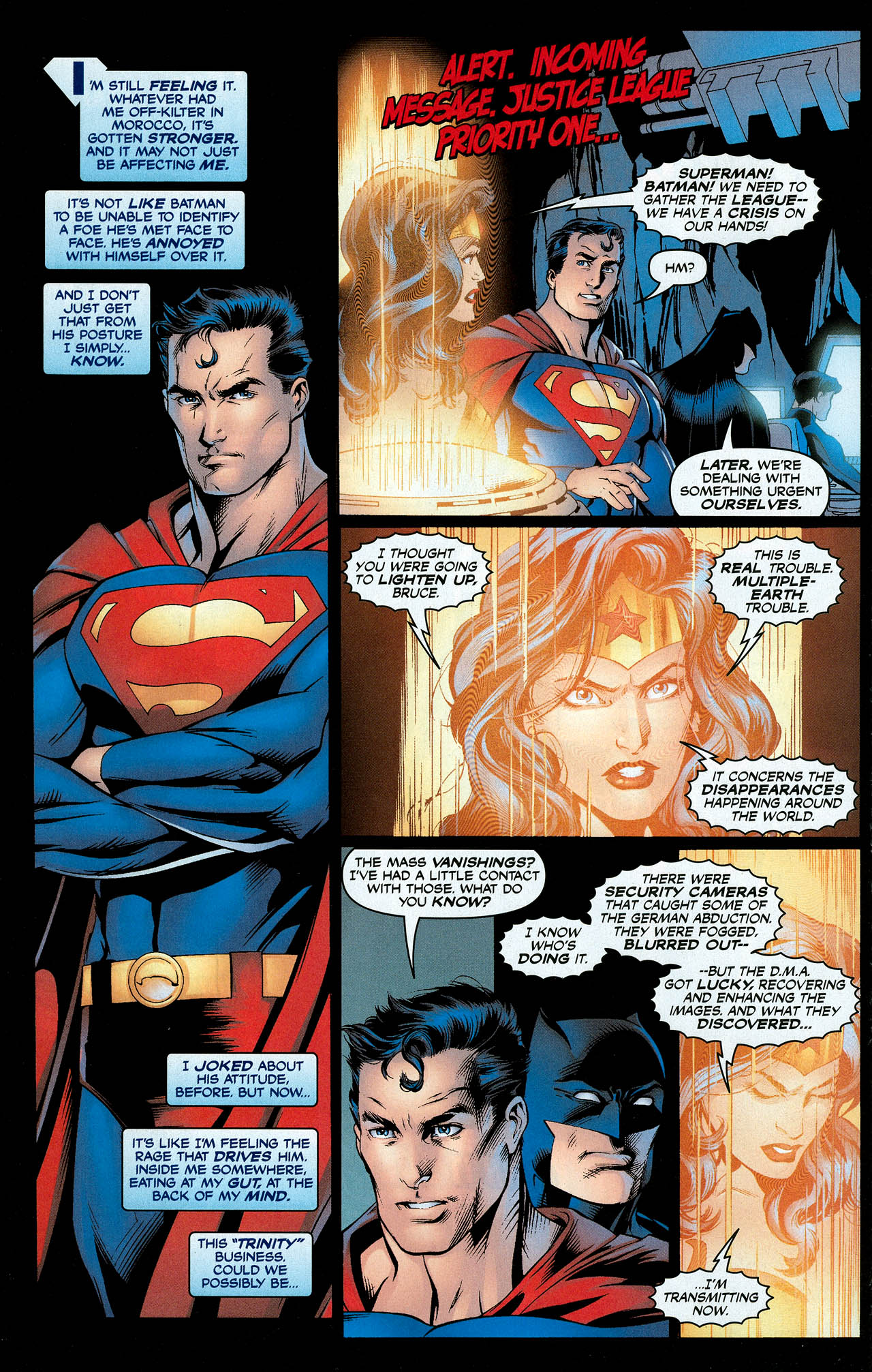 Read online Trinity (2008) comic -  Issue #9 - 16
