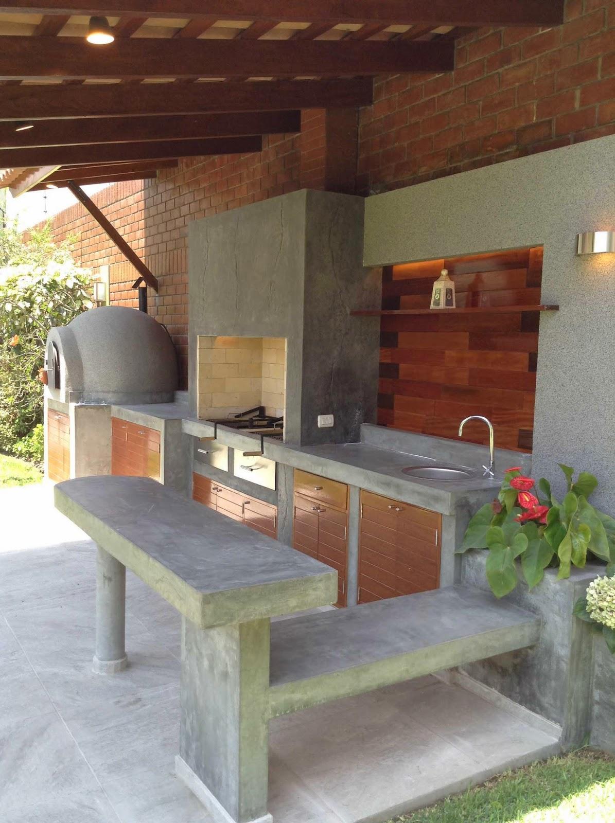 Oniria antes y despu s parrilla remodelada for Disenos de quinchos con piscinas