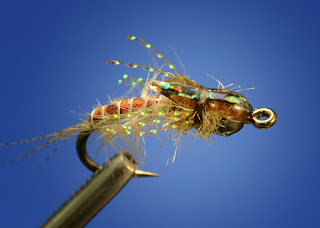 callibaetis nymph emerger mayfly deep dish