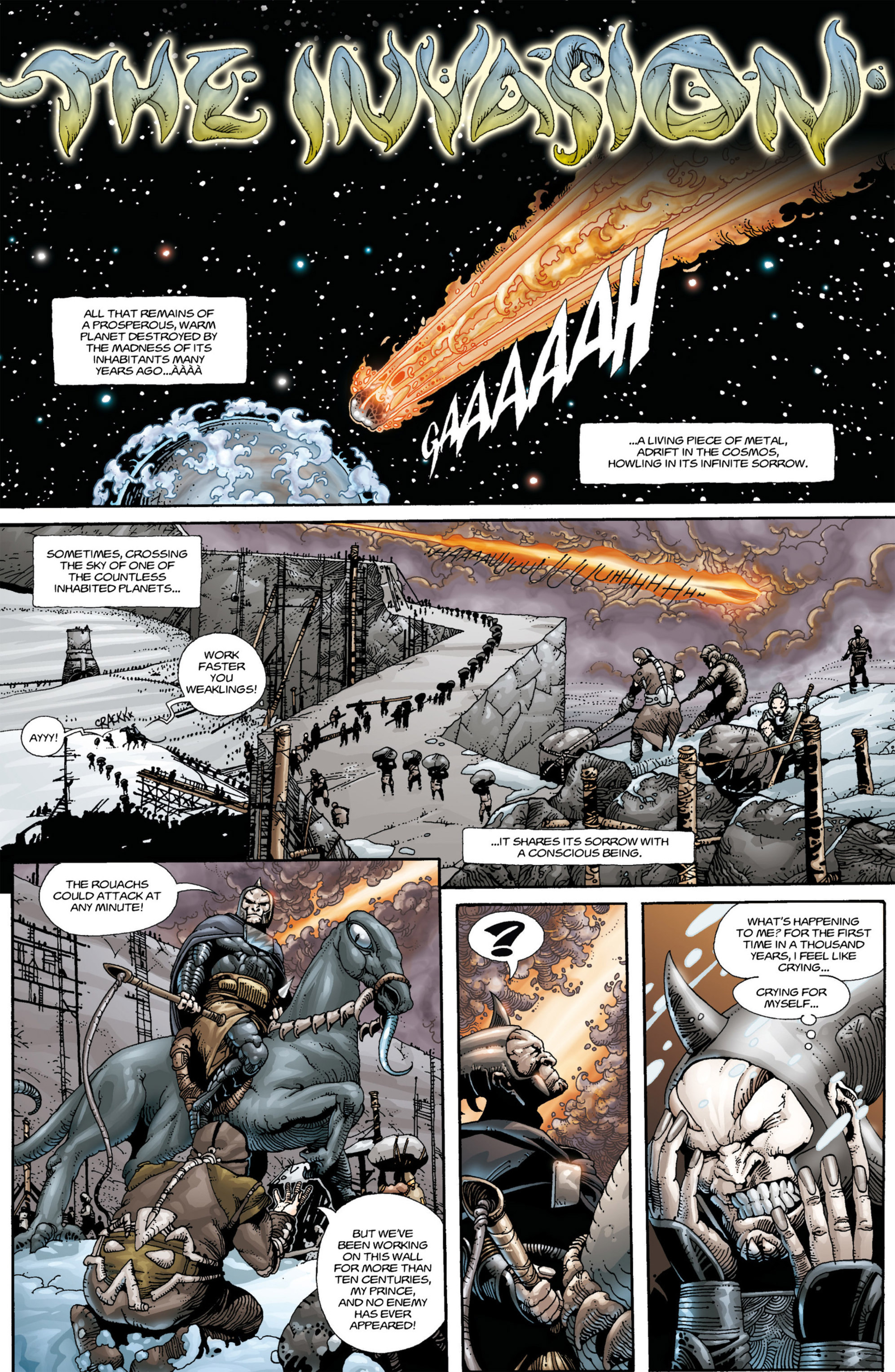 Read online Alejandro Jodorowsky's Screaming Planet comic -  Issue #1 - 11