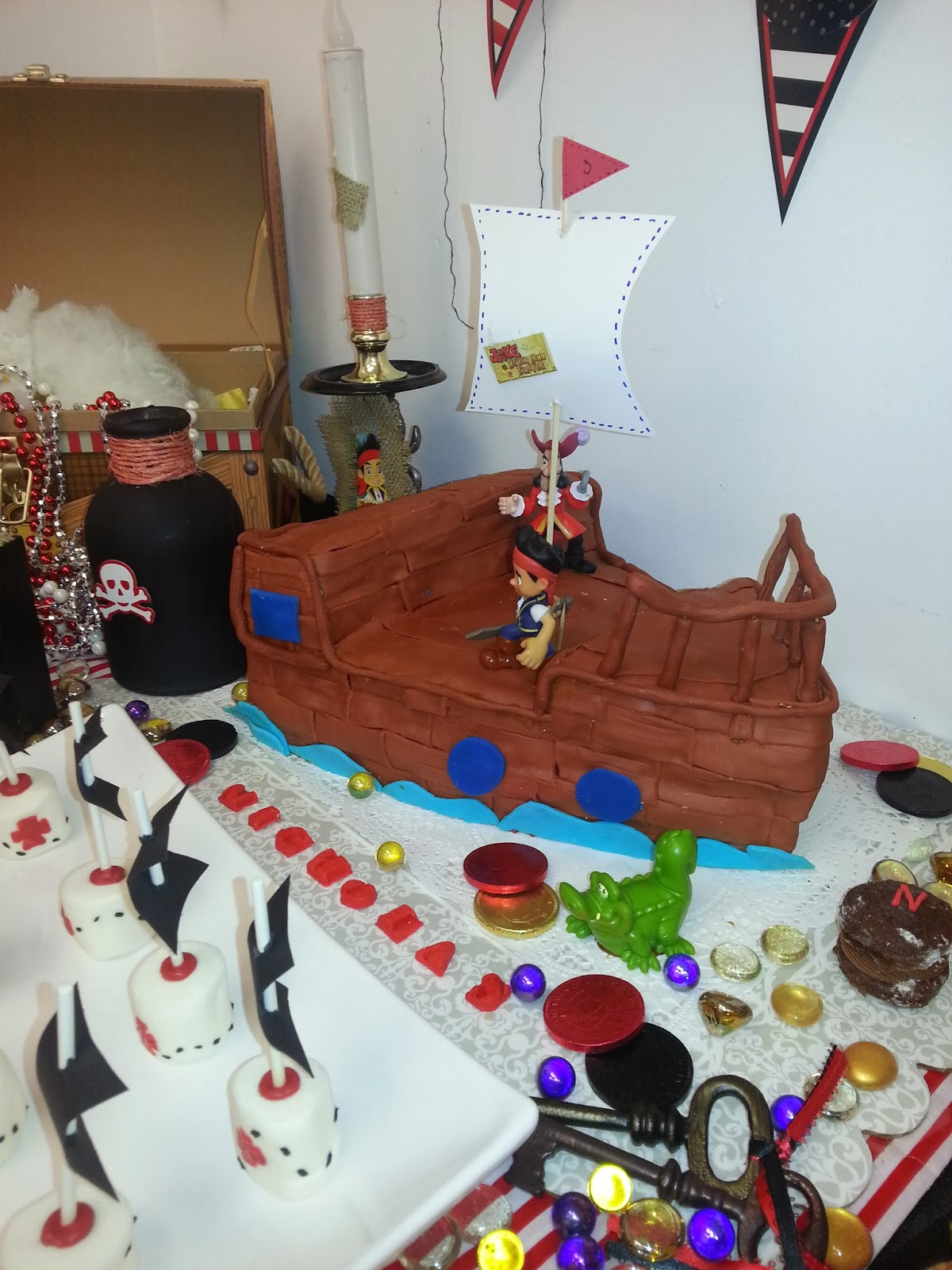 Nana S Theme Party Jake And The Never Land Pirates Themed