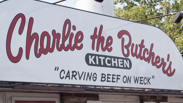 Charlie the Butcher in Buffalo is famous for Beef on Weck
