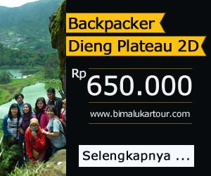 Paket Wisata Dieng Backpacker