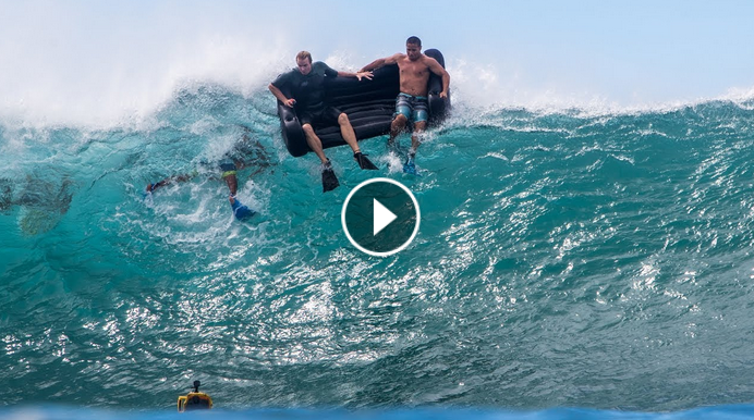 Couch Surfing Perfect Pipeline Jamie O Brien