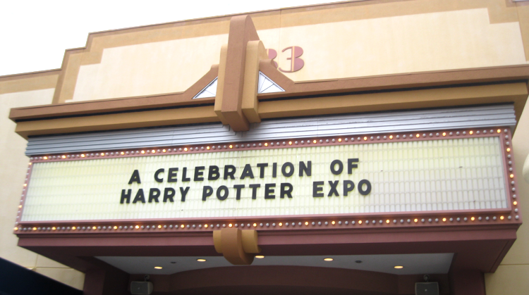 A Celebration of Harry Potter 2018 exhibit