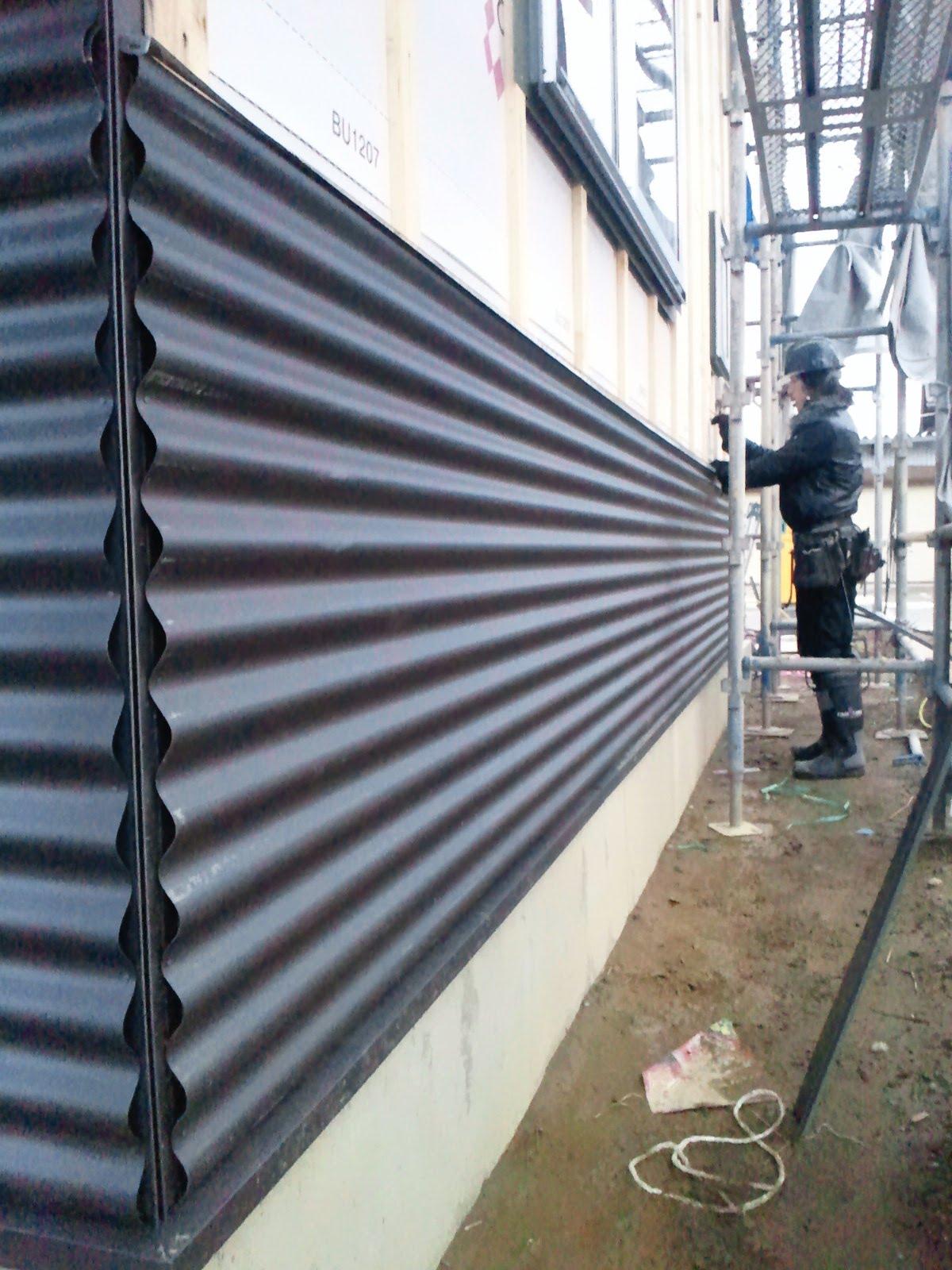 ブログ ブリキ日記 : ガルバリューム鋼板・中波