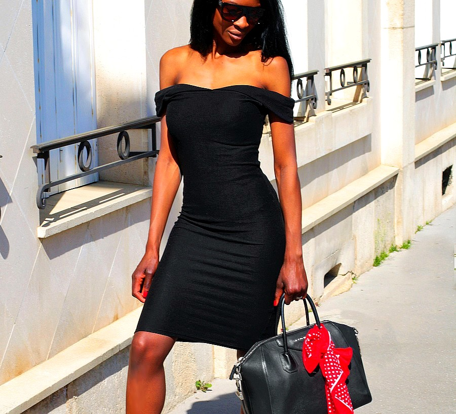 zara-black-bodycon-dress