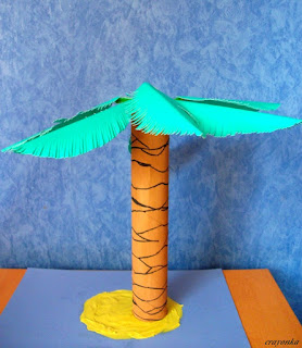 palma z rolki