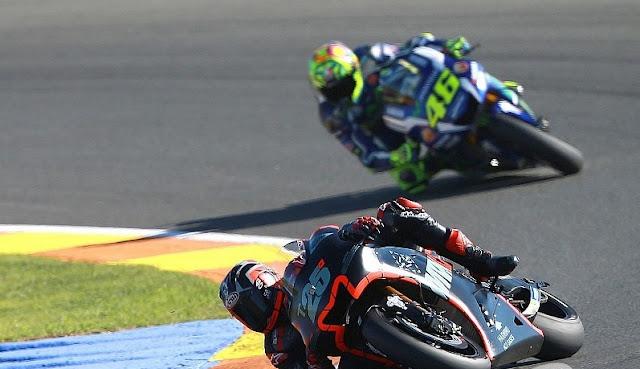 Rossi : Debut yang luar biasa untuk Vinales