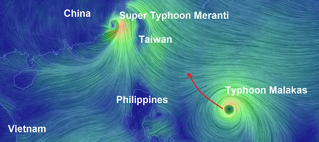 Super Typhoon Meranti has landed on mainland China Untitled