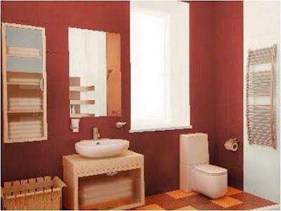 Bathroom Purple color Applications