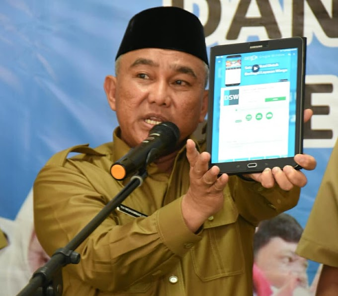 Walikota Gencar Sosialisasikan Aplikasi Sigap dan DSW