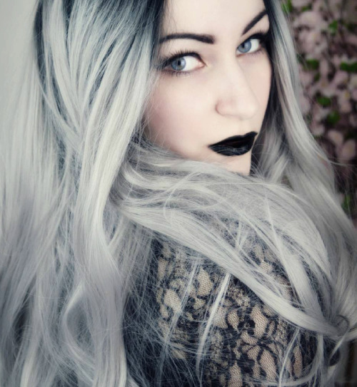 No Its Not GRANNY Hair Its GORGEOUS SILVER The