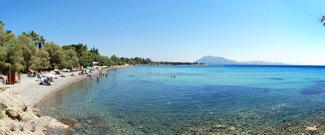 Общественный пляж Датчи. Public beach of Datça