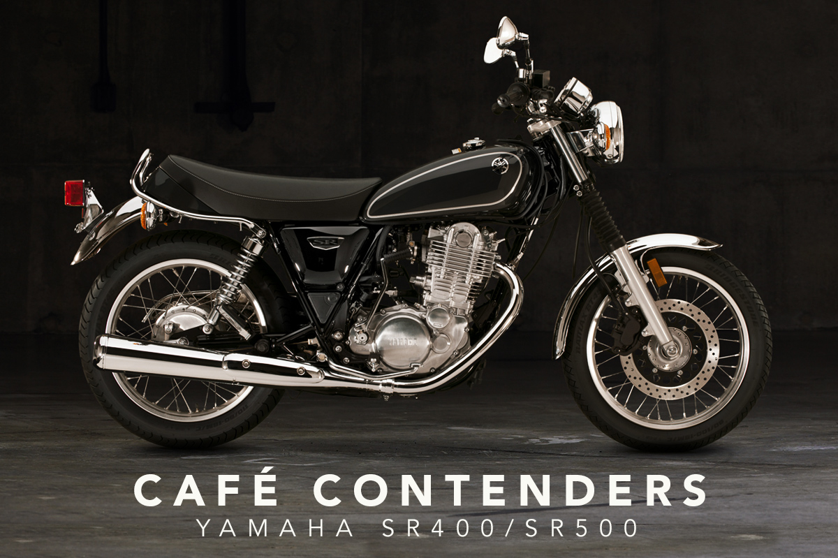 cafe contenders yamaha sr400 and sr500 return of the cafe racers. Black Bedroom Furniture Sets. Home Design Ideas