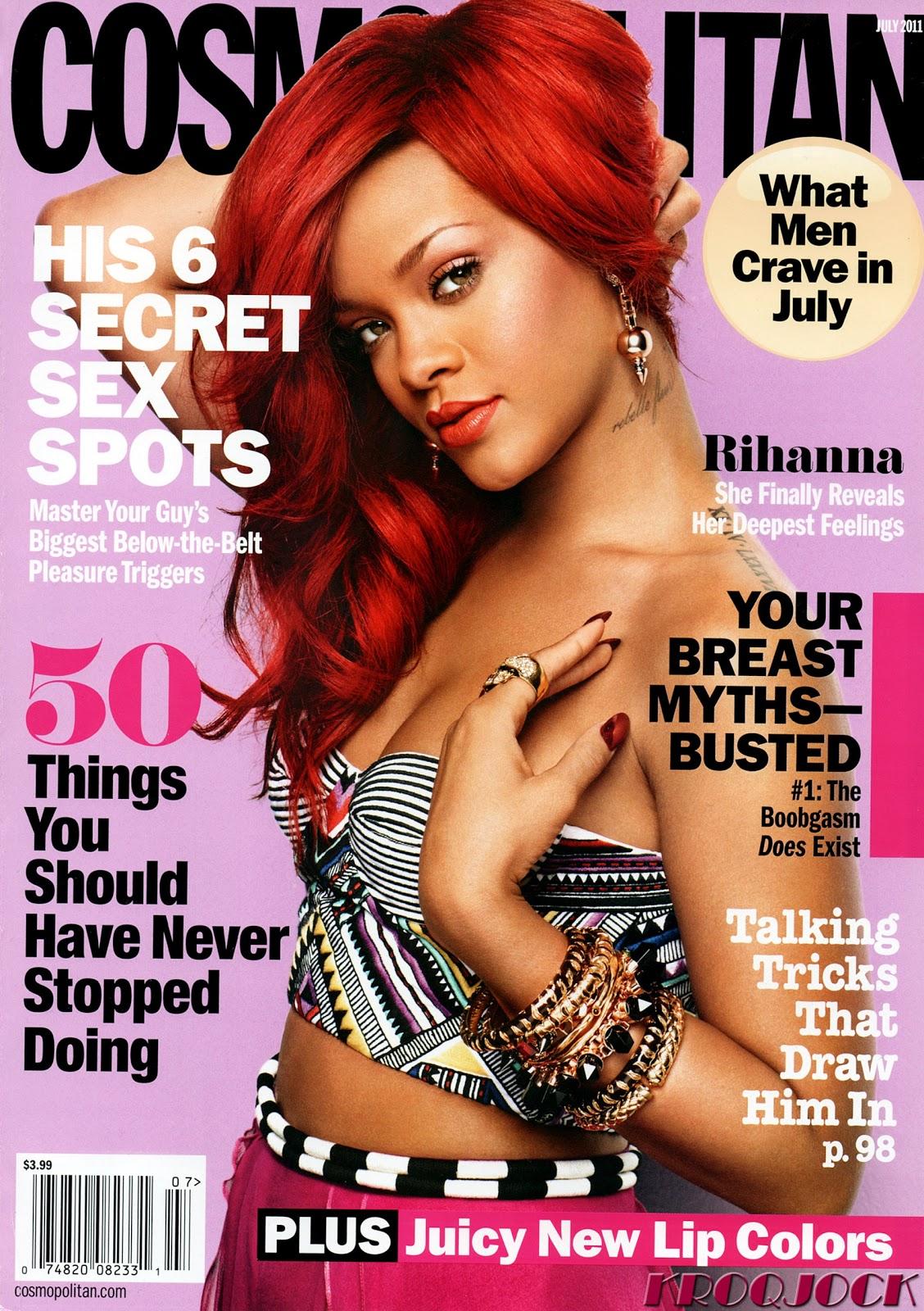 Smartologie: Rihanna For Cosmopolitan Magazine July 2011