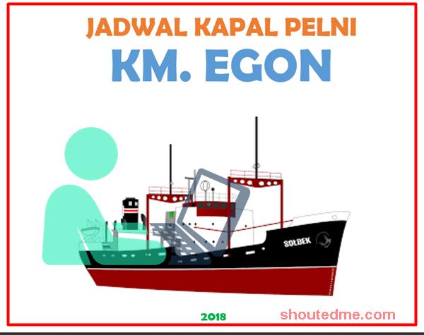 jadwal kapal pelni egon 2018
