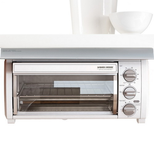 Kitchen Oven Cabinets: Adding Under Cabinet Toaster Ovens In Your Kitchen Space