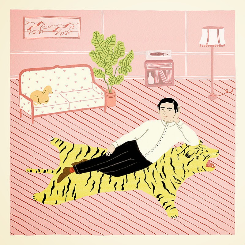 El color rosa en la ilustración