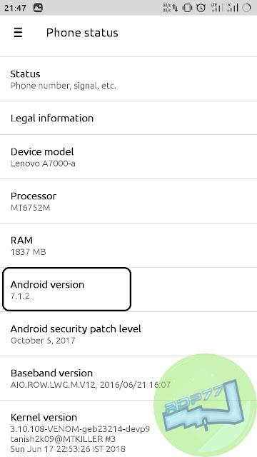 Cara Mengetahui Versi Android Smartphone
