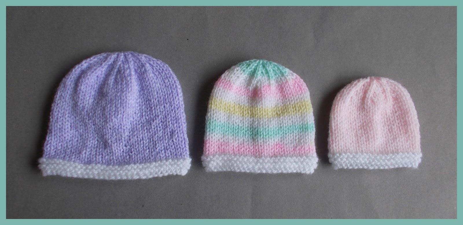 Marianna\'s Lazy Daisy Days: Topaz - Premature Baby Hats