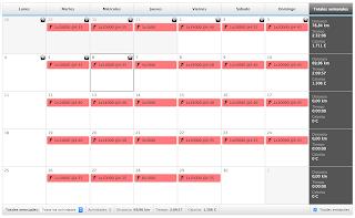 calendario garmin