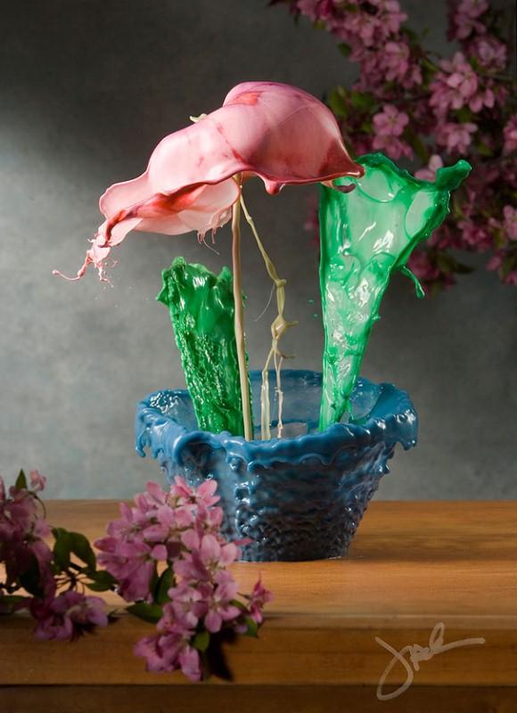 Жидкие цветы. Jack Long 9