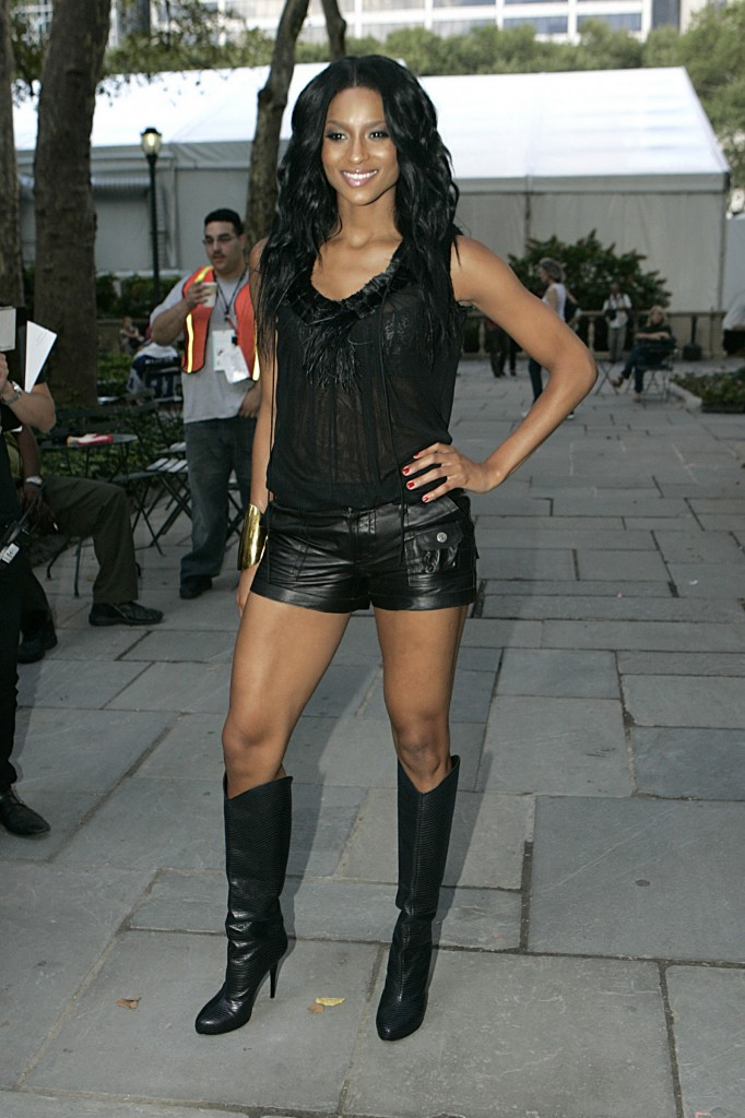 Knee High Boots With Shorts