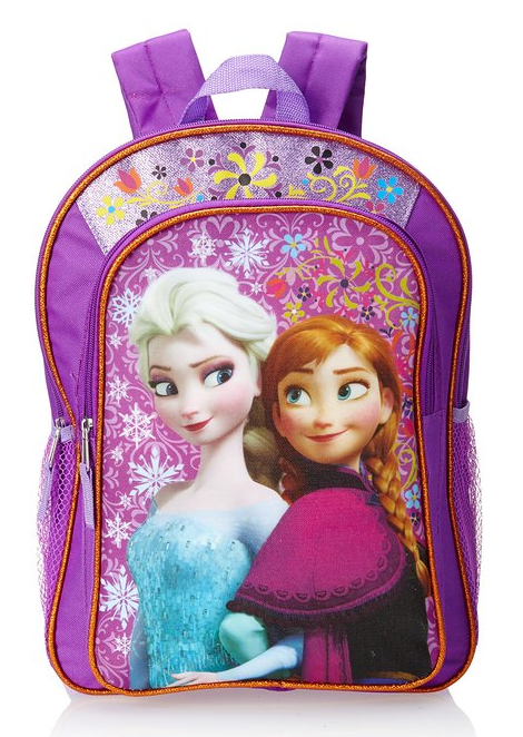 A Dime At a Time: Disney Frozen Anna & Elsa Girl's Backpack ONLY $13.70 Shipped!!