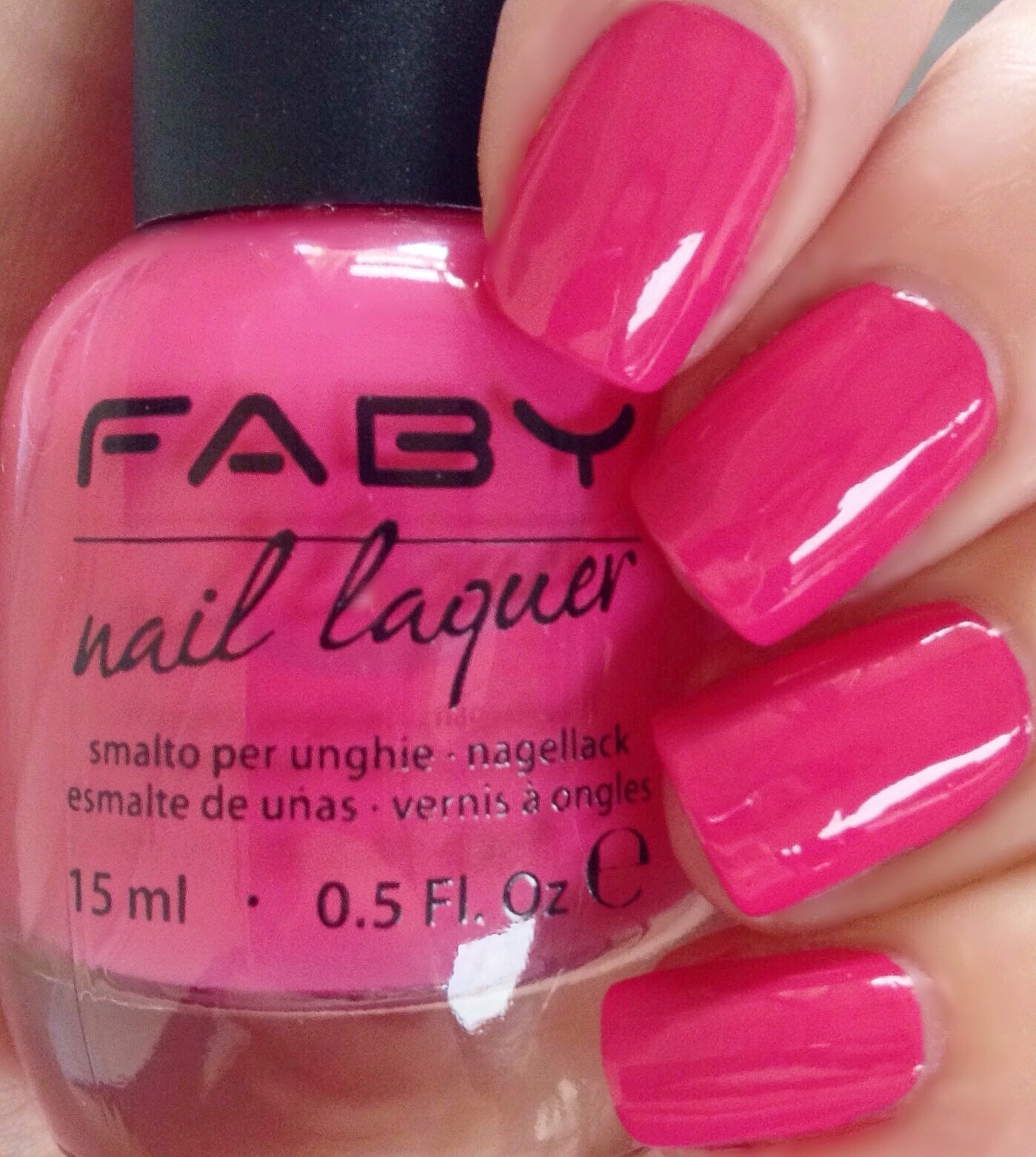 Don\'s Nail OBSESSION!: FABY NAIL LACQUER PINK SHADES - SWATCHES & REVIEW