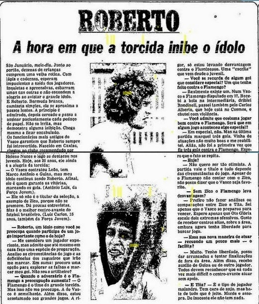 Torcidas do Vasco  FORÇA JOVEM 1979  A HORA EM QUE A TORCIDA INIBE O ... 888df830bc422
