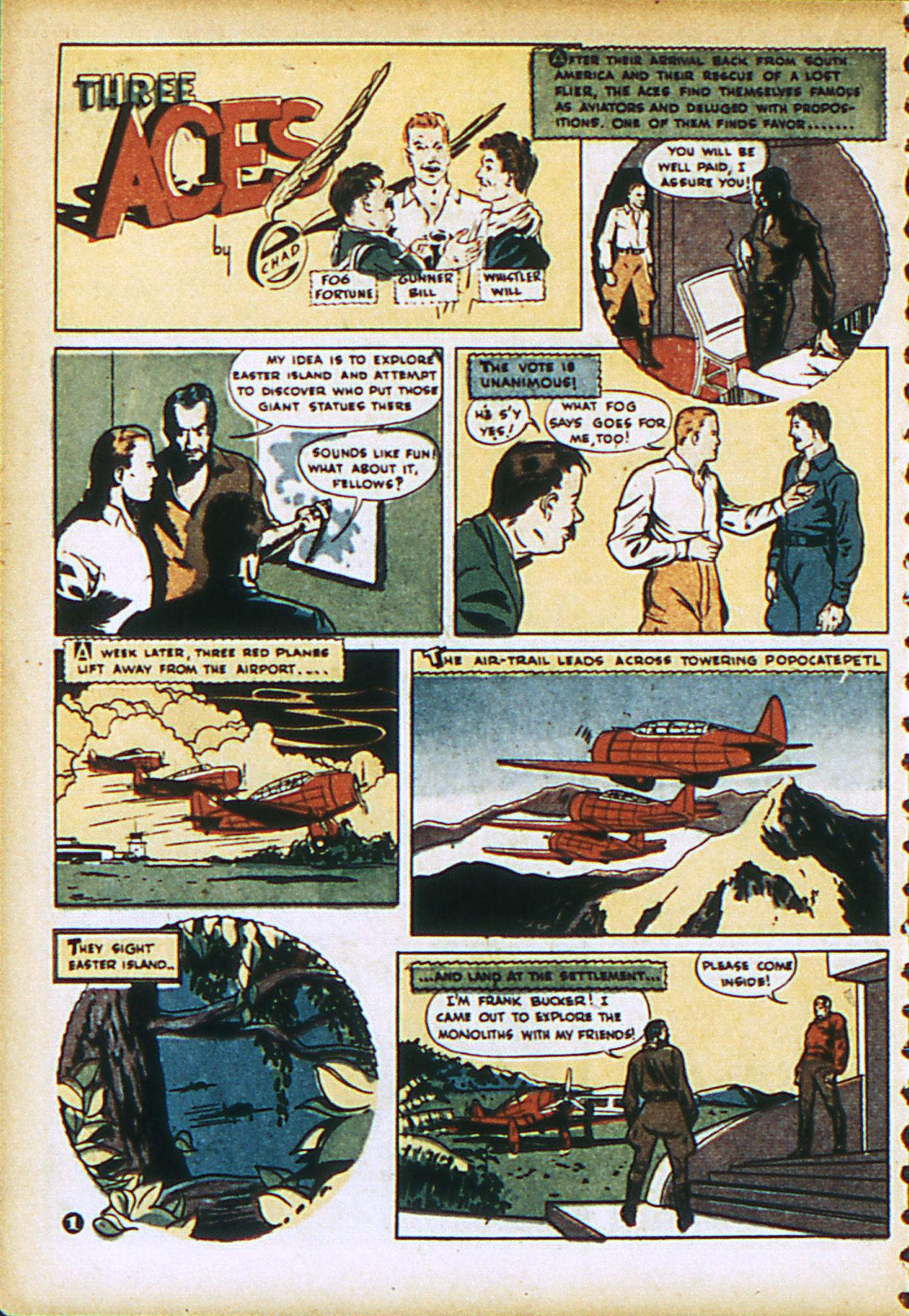 Read online Action Comics (1938) comic -  Issue #28 - 31