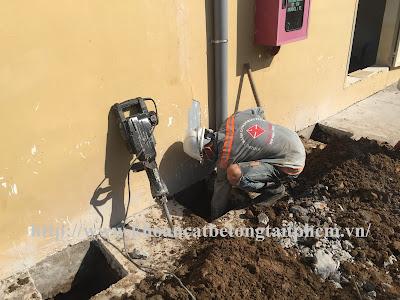 Khoan cắt bê tông tại huyện An Biên