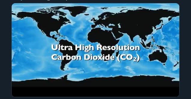 Impressionante la produzione di CO2 di USA Europa e Cina, il video della NASA.