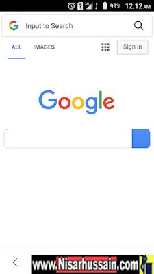 Google in Qmobile