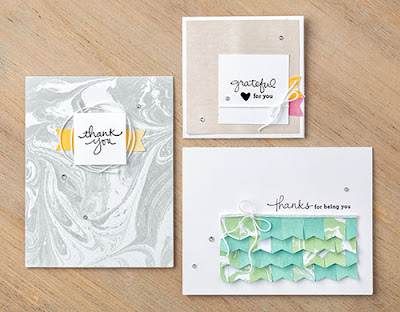 Stampin' Up! Sale-a-bration Perfectly Artistic Designer Paper Projects