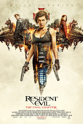 Resident Evil: The Final Chapter Movie Poster 8