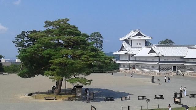 Castillo de Kanazawa en Japón