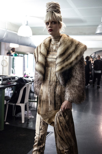Jean Paul Gaultier Haute Couture Fall/Winter 2016-2017 - Backstage