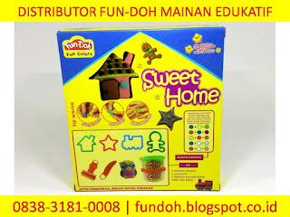 Fun-Doh Sweet Home, fun doh indonesia, fun doh surabaya, distributor fun doh surabaya, grosir fun doh surabaya, jual fun doh lengkap, mainan anak edukatif, mainan lilin fun doh, mainan anak perempuan