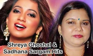 Shreya Ghoshal & Sadhana Sargam Super Hit Best Audio Jukebox