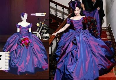 Have dita von teese wedding dress remarkable