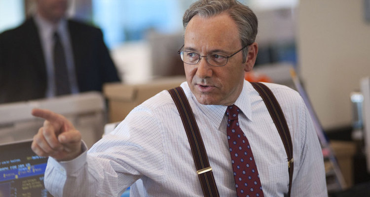 Kevin Spacey es Sam Rogers en Margin Call