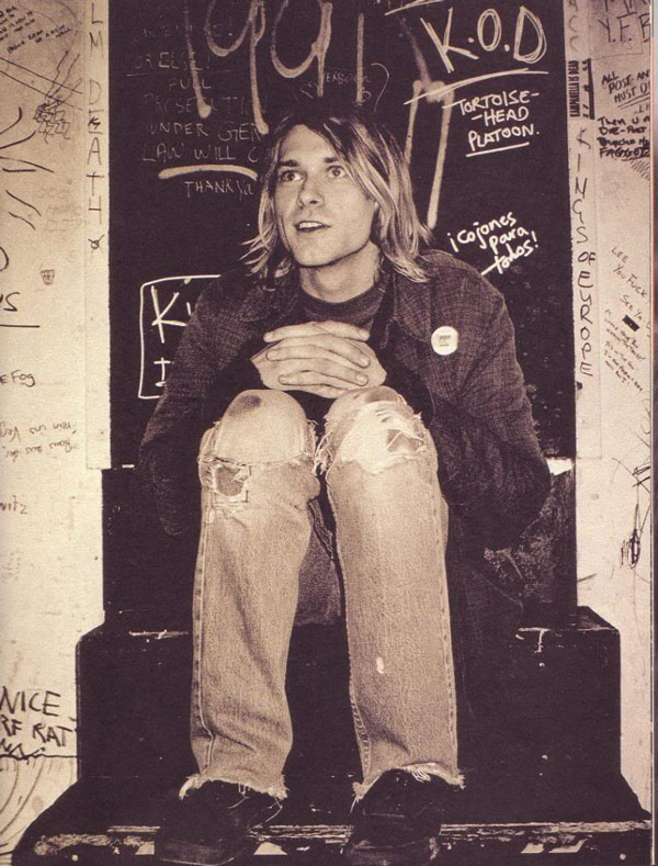 Tomorrow Would Have Been The 45th Birthday Of Legendary Grunge Hero Kurt Cobain Who Committed Suicide At Age 27 To Despair World Large
