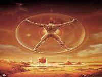 L'âme est une architecture spatiale, un mécanisme puissant pour la réalisation éternelle. Où tout peut se réaliser dans la manipulation de l'espace. Chaque particule élémentaire possède une énergie informatisée.